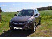 Hyundai ix35 1.7 CRDi 16v Premium SUV, 2WD 5dr, Low Mileage, Excellent Condition, Col Cashmere Brown