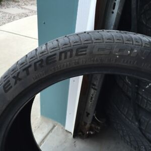 Used Continental Extreme Contact tires