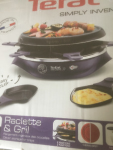 Tefal Indoor Raclette Grill (NEW)