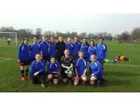SOUTH LONDON BASED WOMENS FOOTBALL CLUB LOOKING FOR EXPERIENCED PLAYERS LADIES FOOTBALL/SOCCER