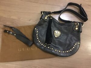 Gucci 2 way leather bag