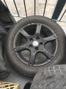 "16"" Nissan mags!!!!"