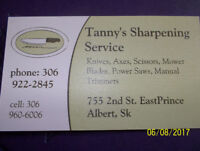 TANNY'S SHARPENING SERVICE