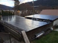 TORCH-ON and FLAT ROOFING specialists available now..