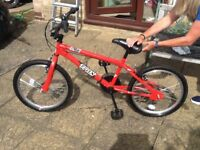 Trax BMX Bike suit 10 To 14 year old in very good condition.