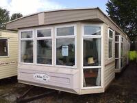 Static Caravan For Sale Atlas Sherwood 37 x 12 ft 2 Bedroom Caravan Double Glazing Electric Heating