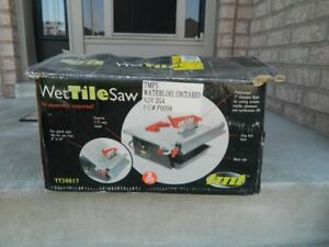 TMT  Wet Tile Saw will angle cut