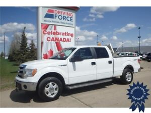 2014 Ford F-150 XLT Super Crew 4x4 - 65,820 KMs, 6 Passenger