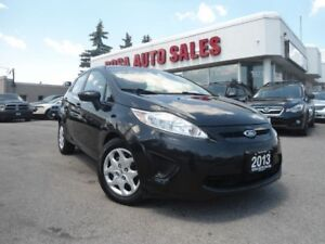 2013 Ford Fiesta 5dr HB AUTO LOW KM NO ACCIDENT FACTORY WARRANTY