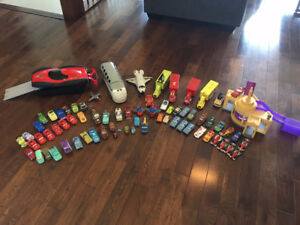 HUGE Cars set (incl characters from Cars, Cars 2, Mater Tales)