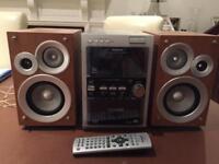 PANASONIC HIFI SPEAKERS SOUND SYSTEM RADIO HI FI