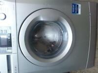 CAN DELIVER £80 SILVER 1600 SPIN WASHING MACHINE NICE CND PERFECT WO ORDER CALL 07922111410