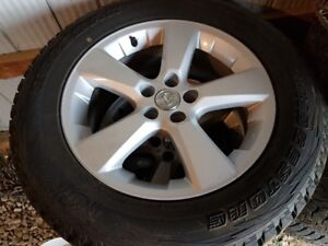 245/60/R18 Blizzak on Lexus Alloy fits Highlander