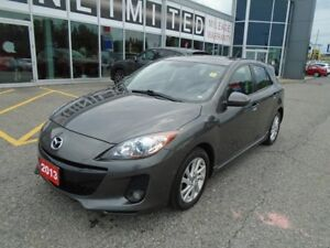 2013 Mazda Mazda3 LEATHER AND SUNROOF LOADED!!**LOWEST PRICE!!**