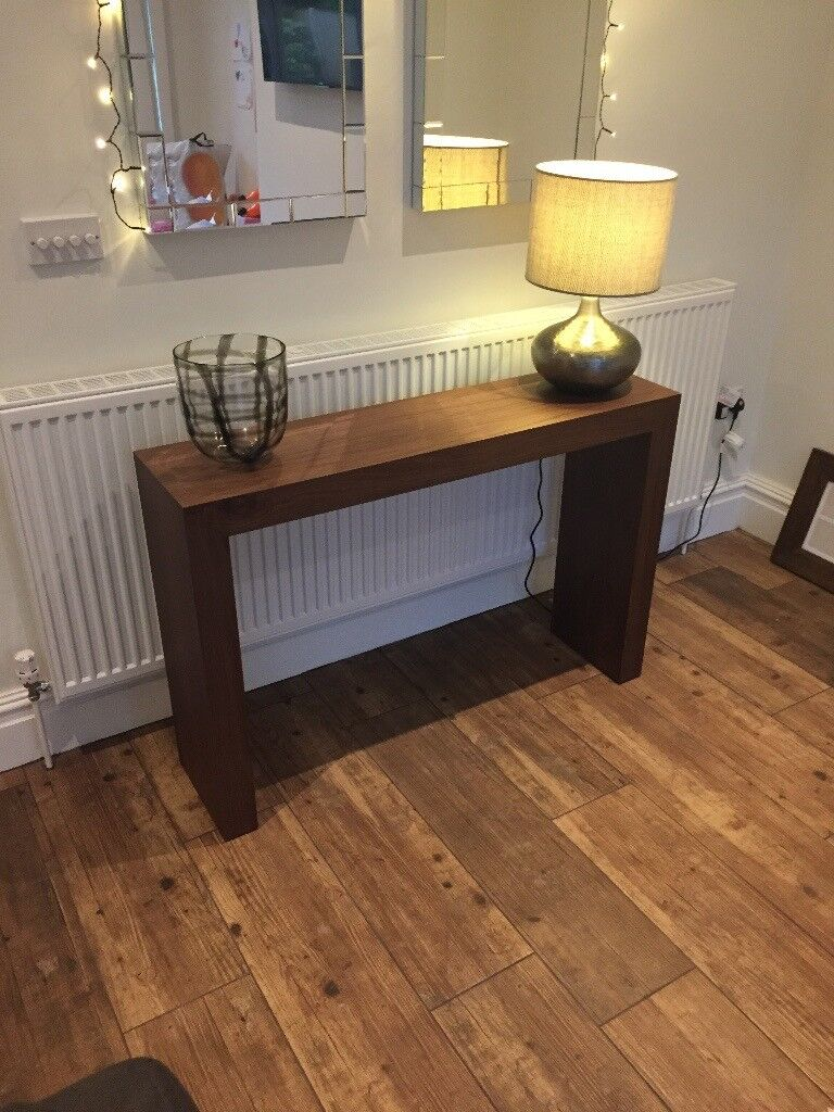 Walnut effect console table and coffee table with storage dwell walnut effect console table and coffee table with storage dwell geotapseo Images