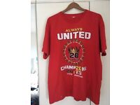Always United Champions T shirt XL