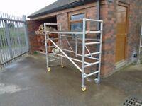 scaffold work tower