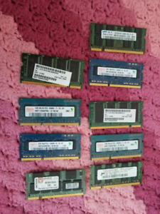 ** Various macbook and laptop RAM sale