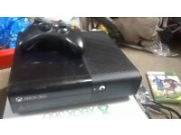 console x box 360,500 gb as new