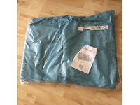 Ikea Nikkala Sofa Cover set in Teal - unopened and never used £75