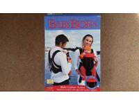 Baby Bjorn Baby Carrier, Active (red) and Fleece Cover - £45.00