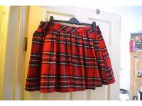 tartan skirt size 18 (fits size 16)