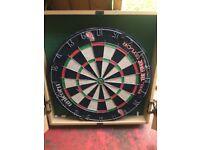Phil Taylor Dart Cabinet & Dartboard £35
