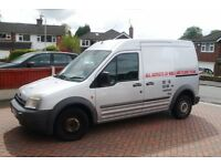 2003 Ford Transit Connect diesel, 1.8CDTi, MOT'd until April 2018, 111,000 miles