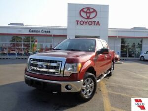 2014 Ford F-150 XTR 4x4 SuperCrew ONE OWNER ONLY 46000KMS!