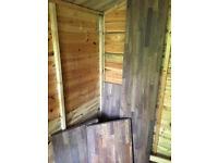American walnut wooden worktop pieces