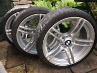 "19"" BMW ALLOYS AND TYRES"