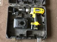 DEWALT XRP 12v DRILL AND BATTERY CHARGER