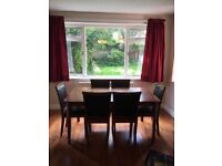 Dining Table And 6 Chairs As New Condition