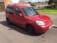 2007 Citroen Berlingo, 1.6 Diesel, 11 months MOT, good for workers!
