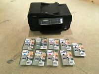 Epson Stylus Office Printer Scanner, with ink cartridges