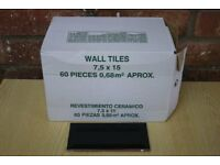 Gloss Bevelled Edge Wall Tiles - 2 Boxes