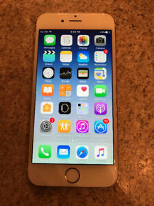 iPhone 6 16gb white/gold PERFECT CONDITION - NOT NEGOCIABLE