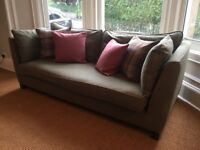 Immaculate Made Wolseley Sofa - With New Feather Inserts