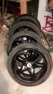 215/45R17 Rims and Tires
