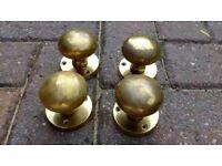 Brass Door knobs for sale £10