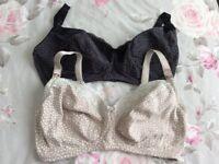 M&S nursing maternity bras 34E never worn