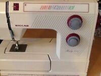 Riccar electric sewing machine model no. 712