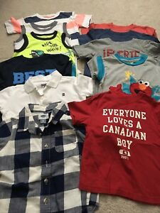 Size 3t shirts - 11 items