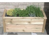 Large Oblong Garden Planter