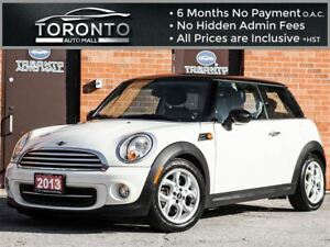 2013 MINI Cooper +Leather+Panoramic roof+Sport package