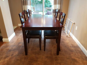 5pc dining set - 1 yr old