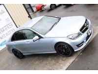 LATE 2013 MERCEDES C220 CDI BLUEEFF AMG SPORT AUTO 168BHP *NIGHT EDITION*(FINANCE & WARRANTY)