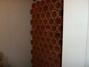 Clay Tiles for Wine Storage