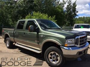 2004 Ford F-350 KING RANCH | 4X4 | HEAT LEATHER | BOX HITCH