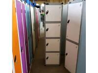 Probe clothes locker. Four doors. Extra wide extra deep.
